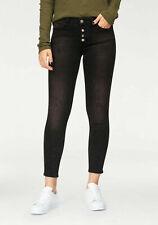 Rich & Royal Skinny-fit Jeans Damen black denim 602972 UVP 149,95€ Gr. W26-W29