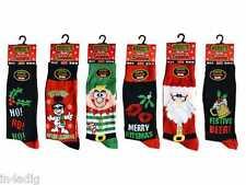Mens Christmas Novelty Socks Stocking Filler Christmas Gift New UK 6/11 EU 39/45