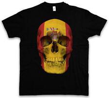 Classic Spain Skull Flag t-shirt-calavera cráneo Banner bandera españa Biker