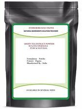 Green Tea Extract Powder  98% POLYPHENOLS  100 % Pure Powder 50% EGCG Free Ship