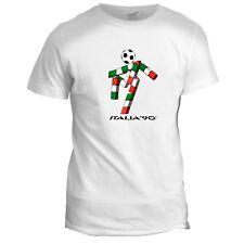 Italia 90 Classic World Cup Retro Football Soccer Italy Mens T Shirt