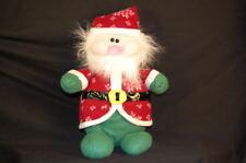 "Snowflake St Nick Santa Clause Christmas  14"" Plush Stuffed Animal Lovey Toy"