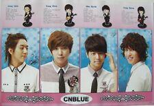 "CN BLUE ""GROUP WITH CARTOON DRAWINGS"" ASIAN POSTER - KOREAN K-POP MUSIC"