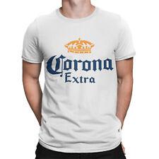 T-Shirt Corona Extra Mexican Lager - Bier logo T-shirt Men Shirt  Weiss S-4XL