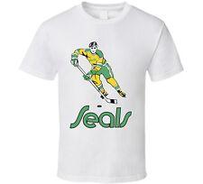 California Golden Seals Retro Hockey T Shirt