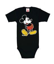 Mickey Mouse (walt disney) Baby Body de LOGOSHIRT, noir