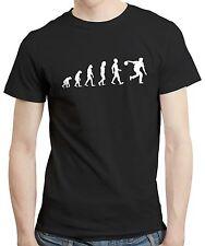 Evolution bowling bowler bols drôle mari cadeau hommes t shirt t-shirt tee