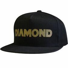 Diamond Supply Co TRACK Snapback Nero