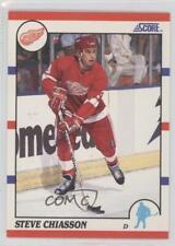1990-91 Score #214 Steve Chiasson Detroit Red Wings Hockey Card