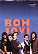 BON JOVI  1995  CALENDAR VERY RARE, JON BON JOVI  DATES MATCH 2017