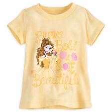 Disney Store Princess Belle Beauty & the Beast Baby Girls T Shirt 18-24 Months