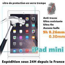 IPAD mini 2/3/4 Vitre de protection film de protecteur d'écran en verre Trempé