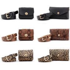 Women's Belt With Bag Chain Decor Adjustable Waist Belts Jeans Dress Waistband