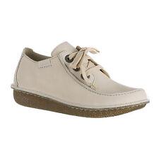 Clarks Funny Dream Schuhe Echtleder Damen beige NEU
