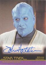 "Star Trek Heroes & Villains - 114 John Hostetter ""Bolian Officer"" Autograph Card"