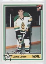 1990-91 7th Inning Sketch WHL #283 Jamie Linden Prince Albert Raiders (WHL) Card