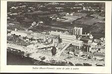 SAILLAT (87) USINE DE PATE A PAPIER 1967