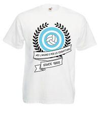 T-shirt Maglietta J1100 Noi l'Amiamo e per Lei Combattiamo Ultras Lazio Firm
