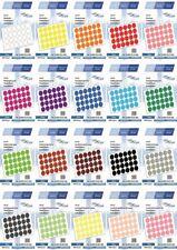Markierungspunkte, Klebepunkte 30mm, rund, aus Plastik von LabelOcean (R)