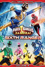 Power Rangers Samurai, Vol. 4: The Sixth Ranger (DVD, 2013)