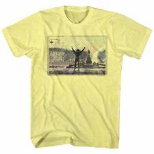 Rocky T-Shirt 1976 Philadelphia Top Of Stairs Yellow Heather Tee