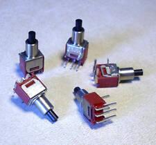5 Stück Print Taster 120V AC / 1A (M3714)
