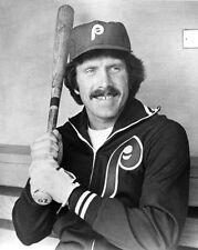 Philadelphia Phillies MIKE SCHMIDT Glossy 8x10 Photo Reprint Baseball Portrait