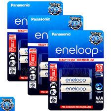 6 x Panasonic Eneloop AAA batteries 750mAh Rechargeable Ni-MH Accu HR03 Phone