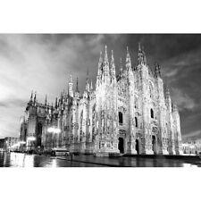 Quadro Stampa su Pannello in Legno MDF Duomo di Milano