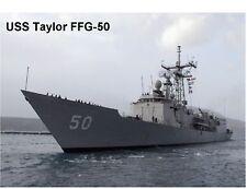USS Taylor FFG-50   Navy Ship Refrigerator / Tool Box  Magnet