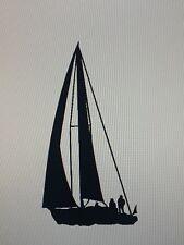 Sailboat Sailing Vinyl Decal Sticker Boat Yacht