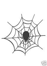 Spinnennetz  Aufkleber Sticker Halloween  m212