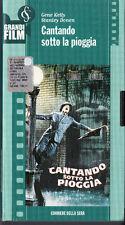 Cantando sotto la pioggia (1952) VHS I GRANDI FILM