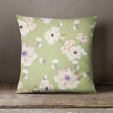 S4Sassy Mint imprimés floraux coussin couverture Throw taie décorative