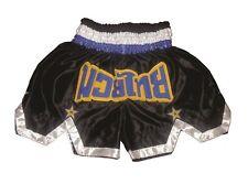 Muay Thai Hose, Thai Box Shorts, Kickboxen K1 MMA Pants 100% Satin NEU, Gr. S-L