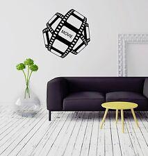 Wall Vinyl Sticker Movie Cinema Film Filmstrip Entertainment Room Decor (ig2065)