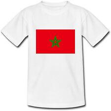 T-shirt Adulte Drapeau Maroc - du S au 2XL