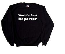 WORLD'S BEST REPORTER Felpa