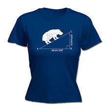 Ángulo hippotenuse Para Mujer T-Shirt Tee cumpleaños profesor estudiante de matemáticas Geek Nerd