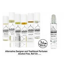 2 x 10ml Designer Alternative Perfume Attar Oil Alcohol Free Roll On Men Women