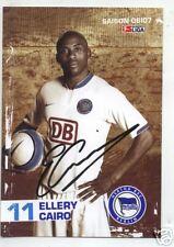 AK Ellery Cairo - Hertha BSC Berlin  06/07