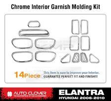 Interior Chrome Garnish Molding Kit Trim C352 Fit 2006 - 2010 HYUNDAI Elantra HD