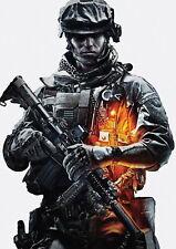 139966 BATTLEFIELD 3 SOLDIER BF3 FRAMED CANVAS PRINT AU