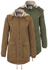 VESTE FEMME onlanna Parka jacket capuche fermeture à glissière Veste d'hiver