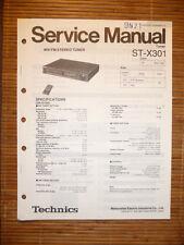 Service Manual für Technics ST-X301 Tuner,ORIGINAL