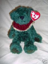 "Laurel, Green 8"" Holiday Bear -Attic Treasures by Ty"