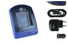 Akku-Ladegerät (USB) DMW-BCG10E für Panasonic Lumix DMC-3D1, TZ6, TZ7, TZ8, TZ9
