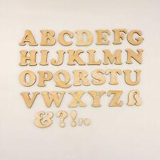 Holz Buchstabe Rohling Kinderzimmer Name A-Z CB 5cm Text DIY für Türschild Deko