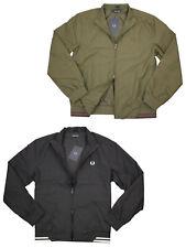 Fred Perry Herren Jacke The Brentham Jacket J100 Übergangsjacke Männer S M L XL