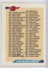 1992-93 Bowman #441 Checklist Hockey Card